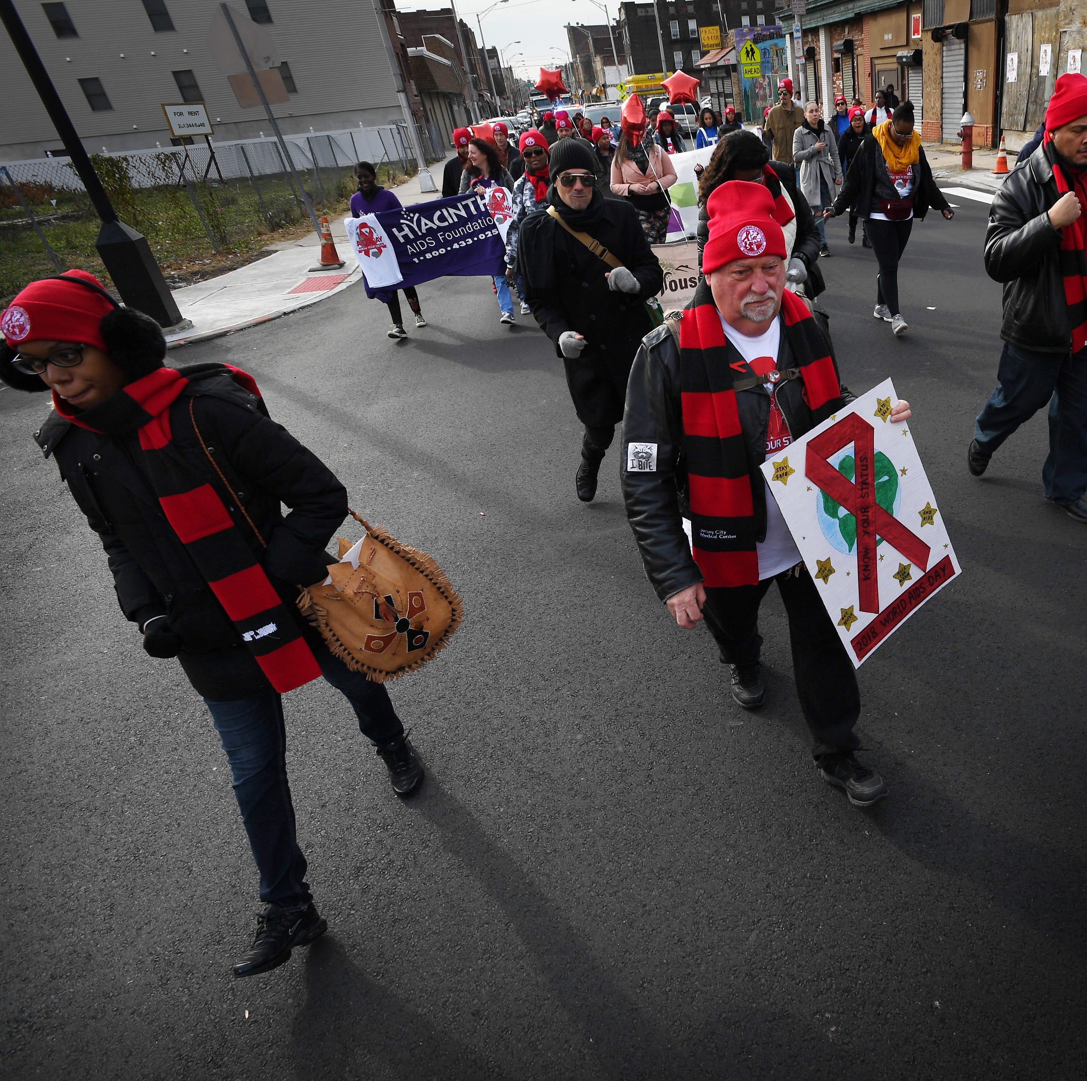 World AIDS Day: Walk in Jersey City raises awareness