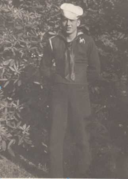 """George """"Dutch"""" Halik attended Ramsey High School before serving as a  Seaman First Class, U.S. Navy, serving in the North Atlantic and Mediterranean, 1944-1945."""