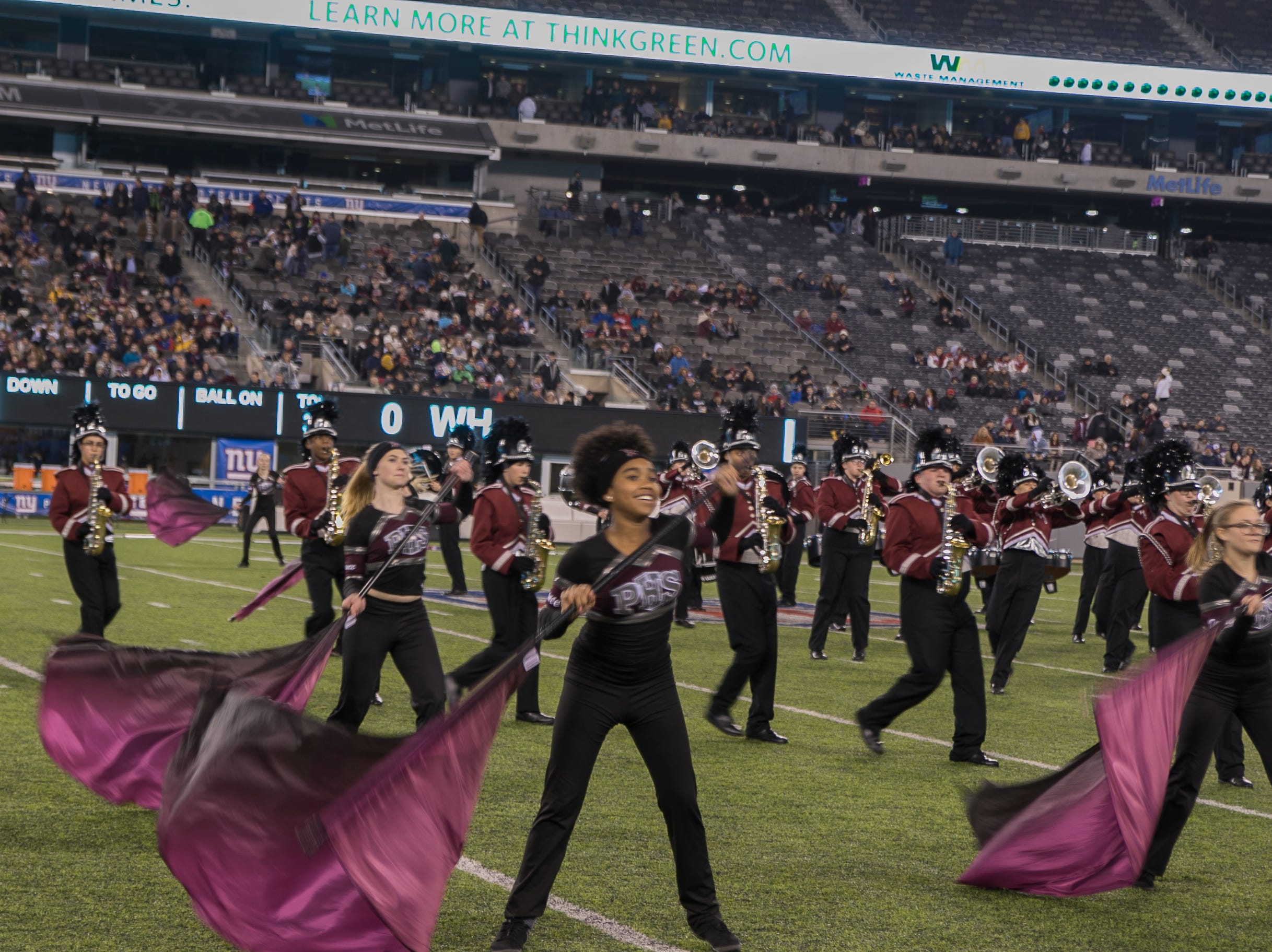 The crowd at the Wayne Hills versus Phillipsburg High School North Group 4 Bowl Championship at MetLife Stadium. Wayne Hills beat Phillipsburg 35-21. 11/30/2018