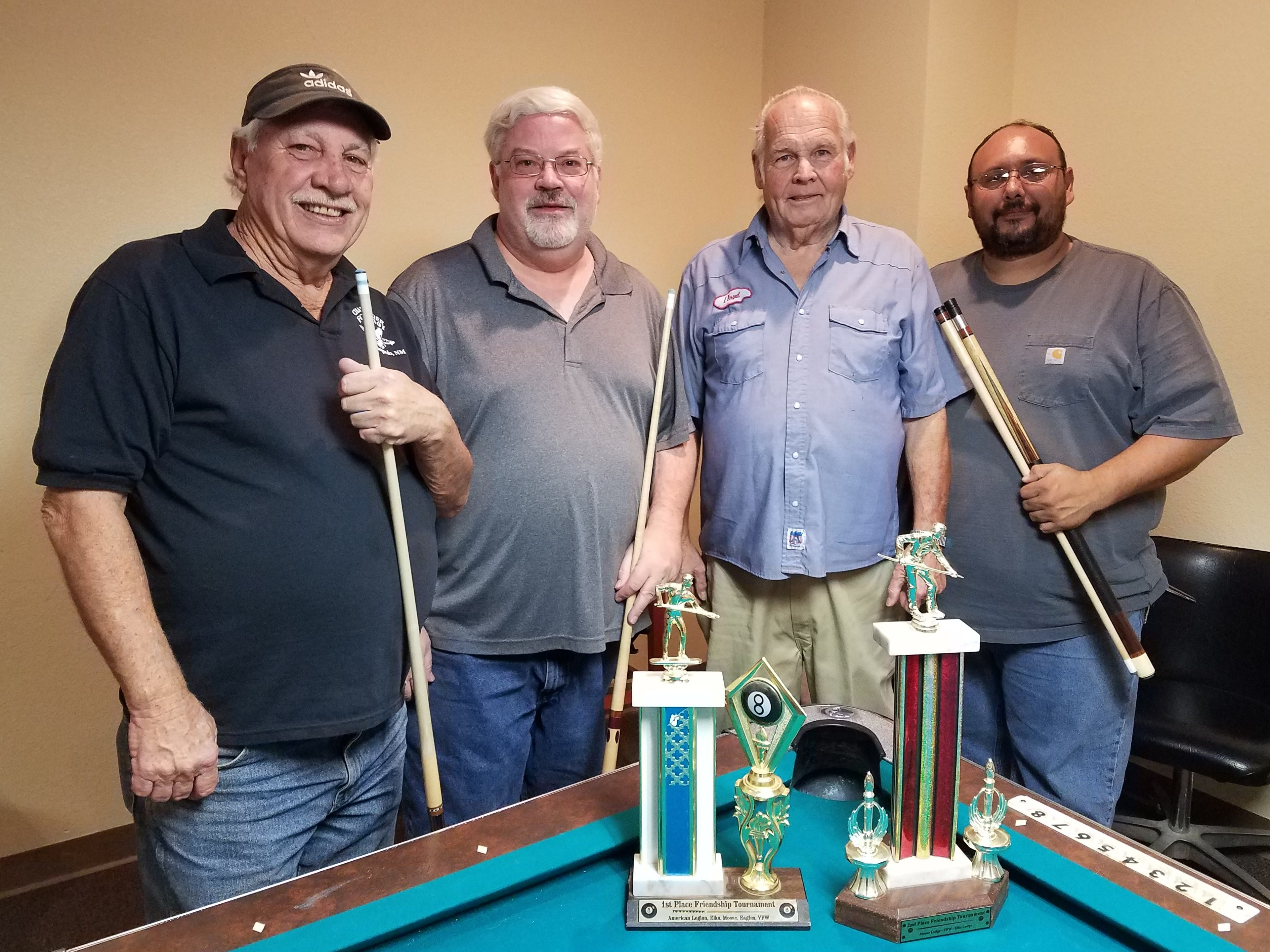 November Friendship Pool Winners