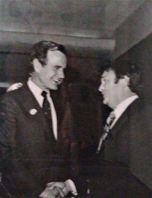 George Bush and Charles Stallings