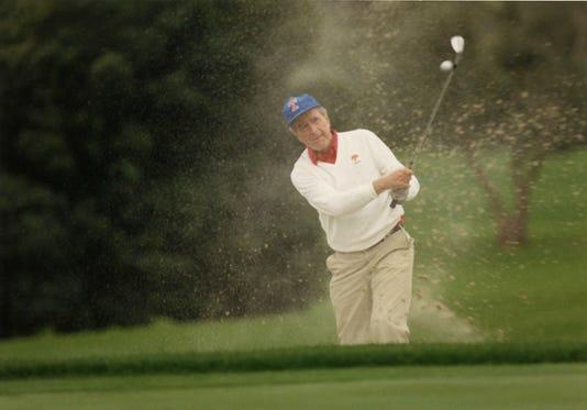 George Hw Bush Golf Stroke