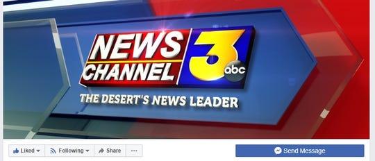 The KESQ Facebook homepage