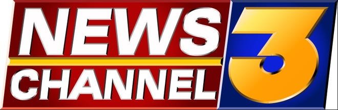 KESQ News Channel 3 logo no longer notes its affiliation or its sister channel, Channel 2.