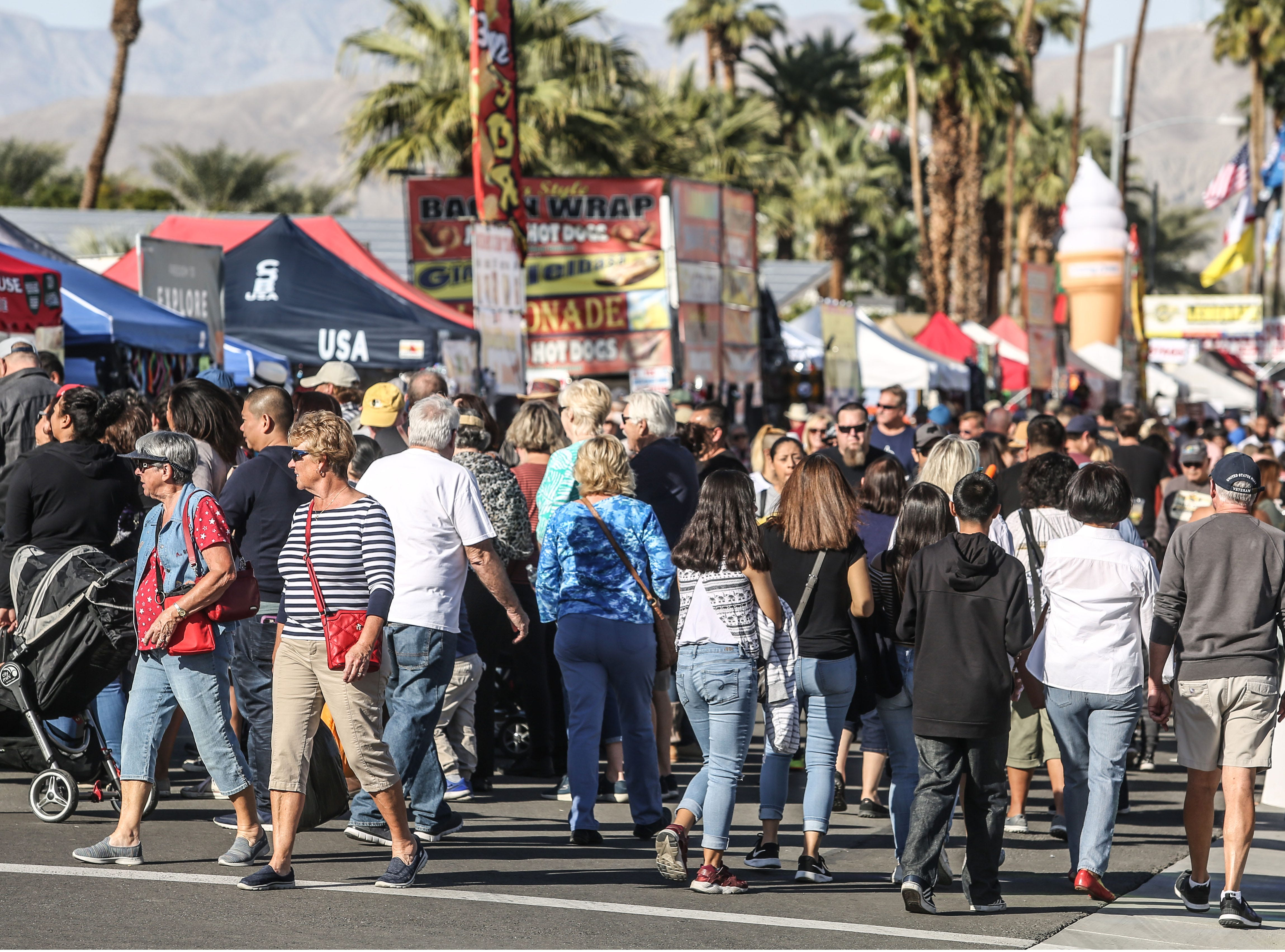 Tamale fans on Saturday, December 1, 2018 during annual Indio Tamales Festival.