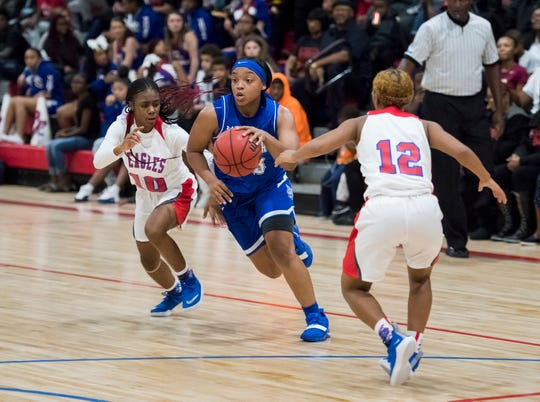 Jaila Roberts signed with the University of North Alabama on Monday. UNA finished 21-9 last season in the A-Sun conference.