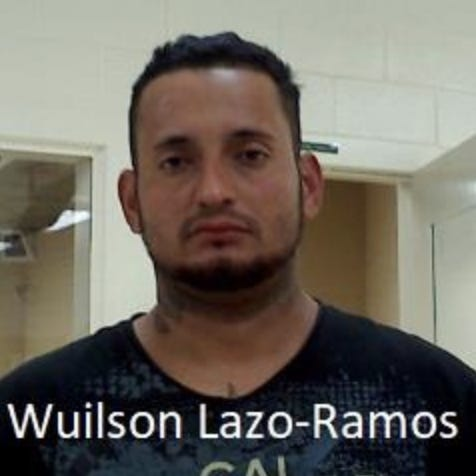 Wuilson Lazo-Ramos, 30, arrested in Tucson.