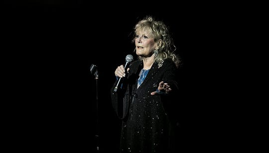 Petula Clark performs at the Celebrity Theatre on Friday, Nov. 30, 2018.