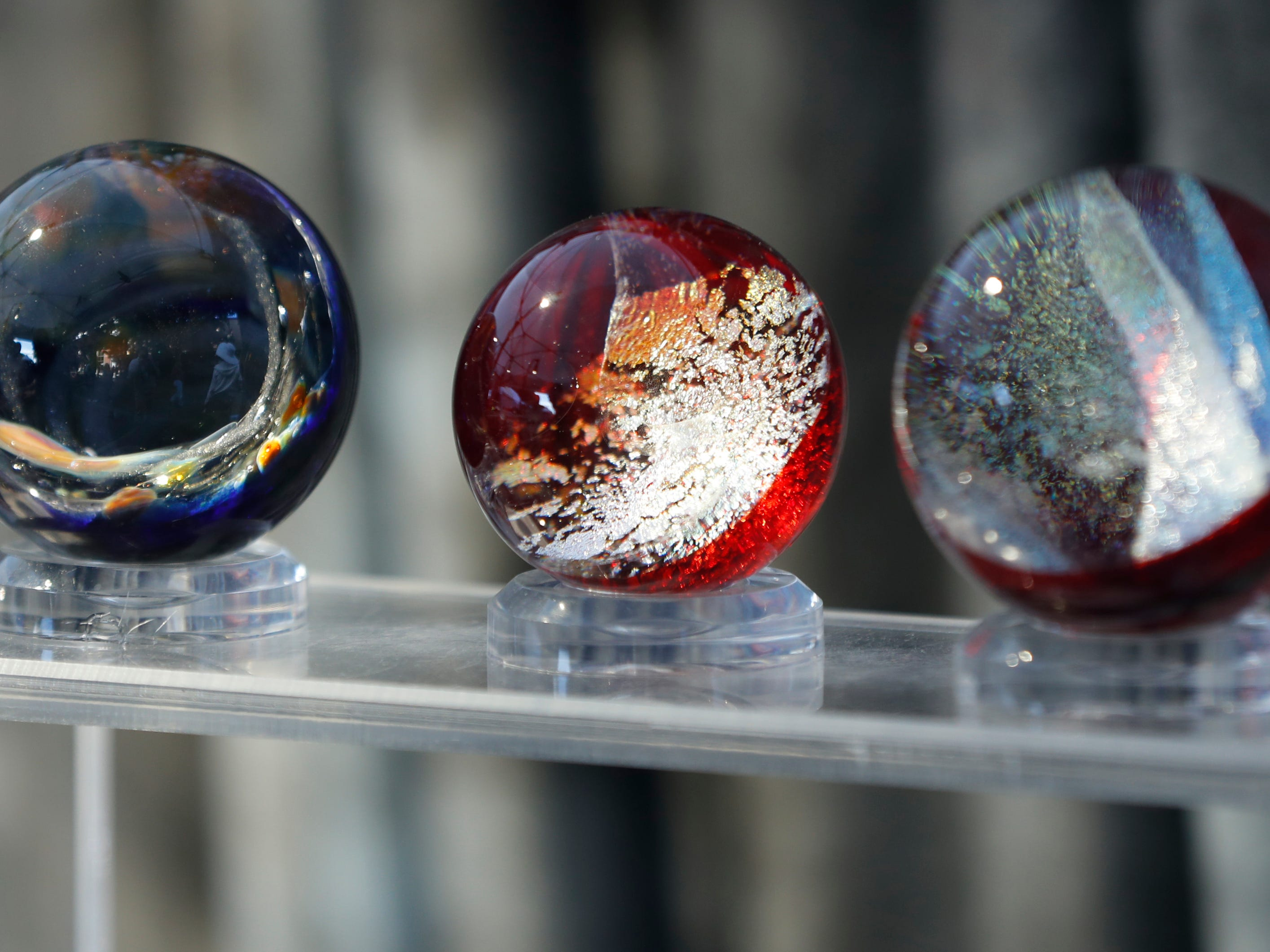 Marbles for sale at the Tempe Festival of the Arts on Mill Avenue on Friday, November 30, 2018.