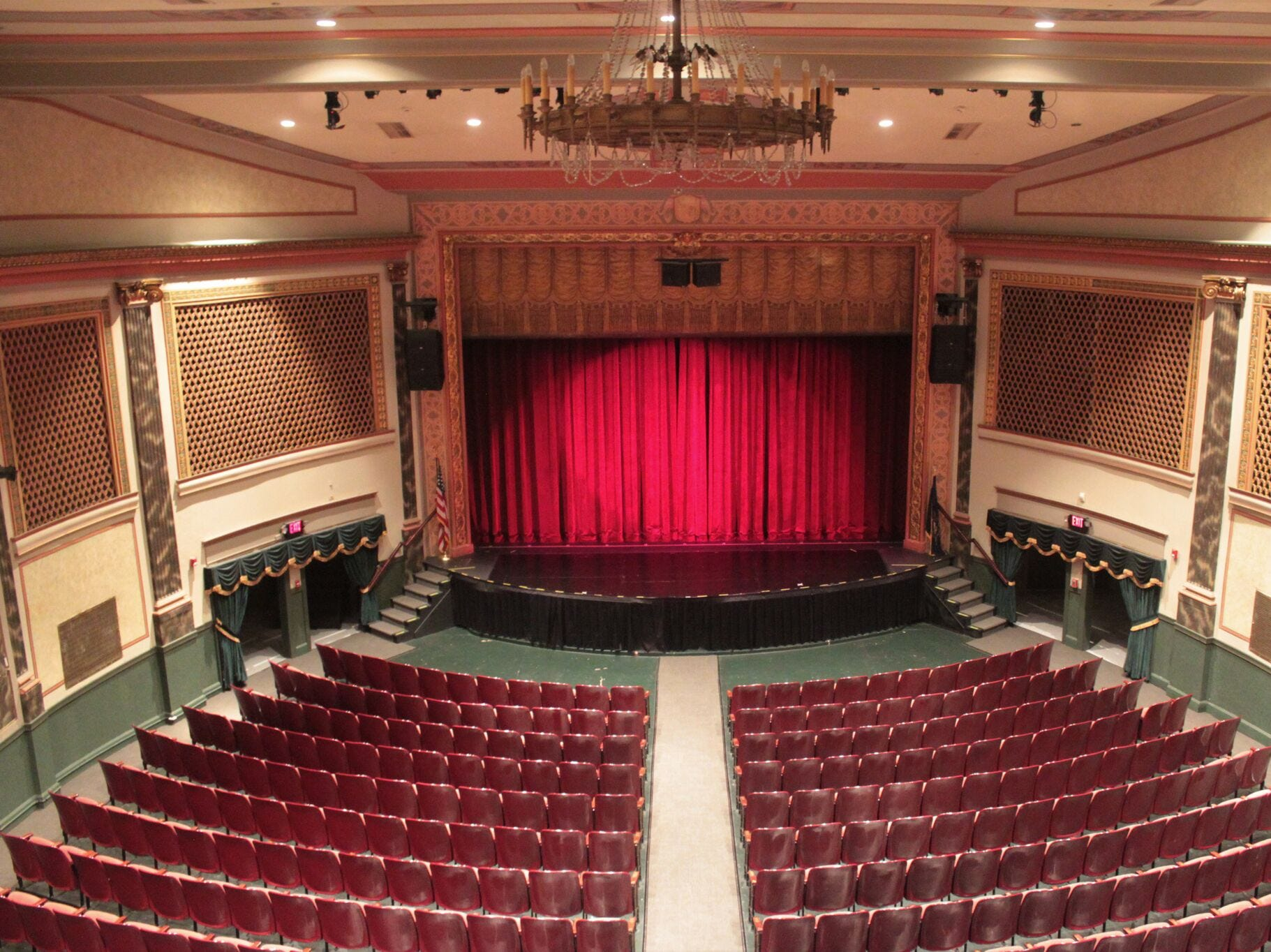 The interior of Capitol Theatre, Chambersburg.
