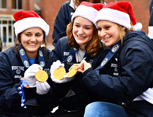 West York High School Volleyball Champs Parade