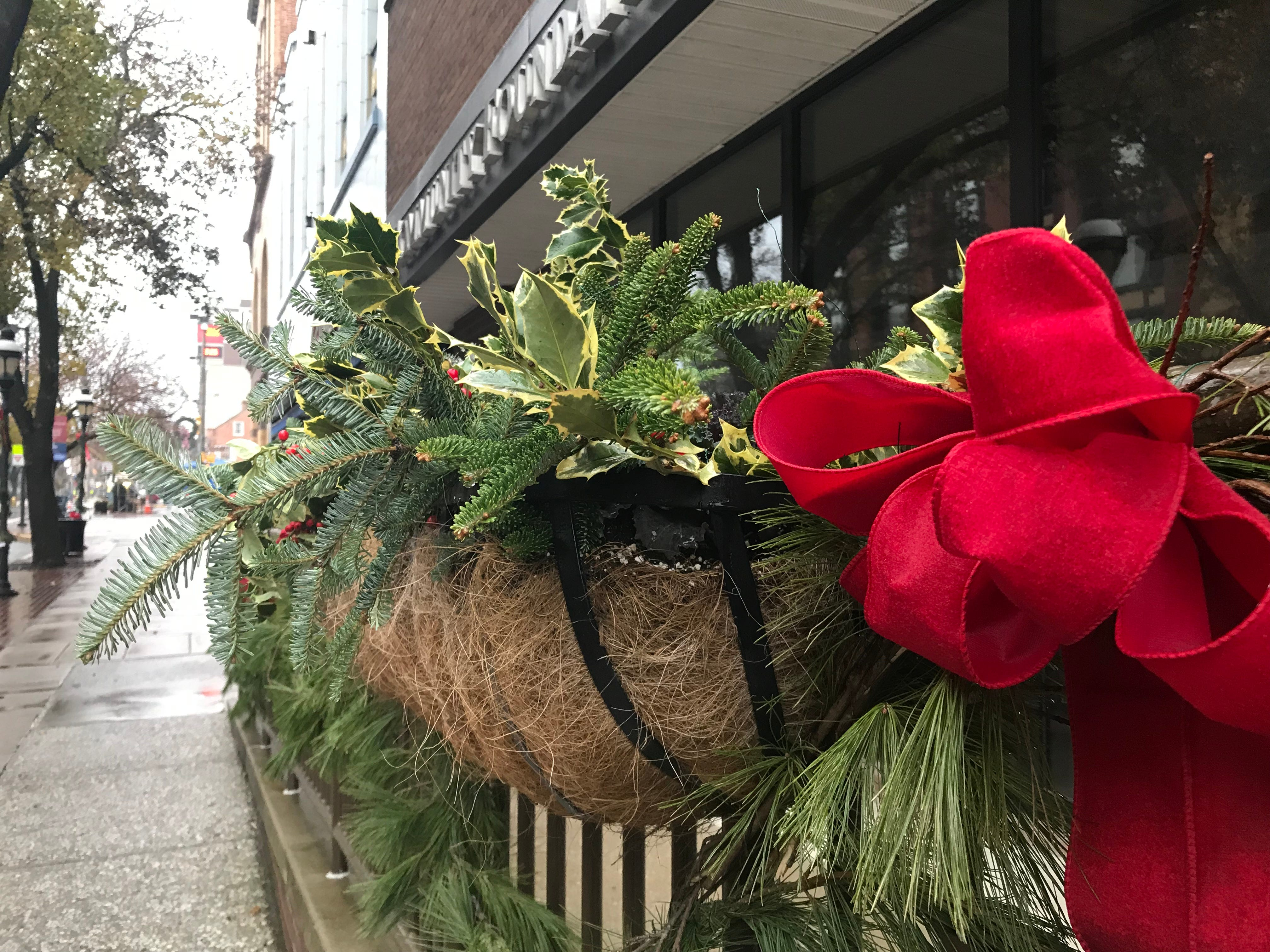 West Market Street in York is decorated for the holiday season at Light Up York on Saturday, Dec. 1, 2018.