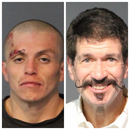Mug Shots Diaz And Kernan