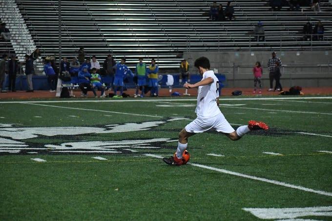 Photos from Everett Alvarez' road game against GIlroy.