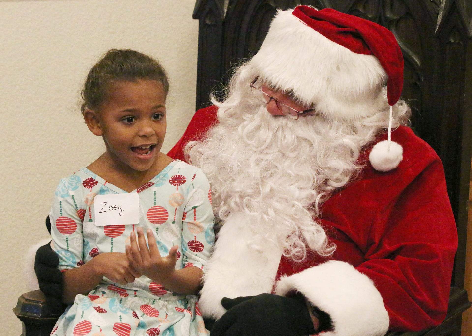 Cookies With Santa Zimmer Westview Brings Joy To Children At Event
