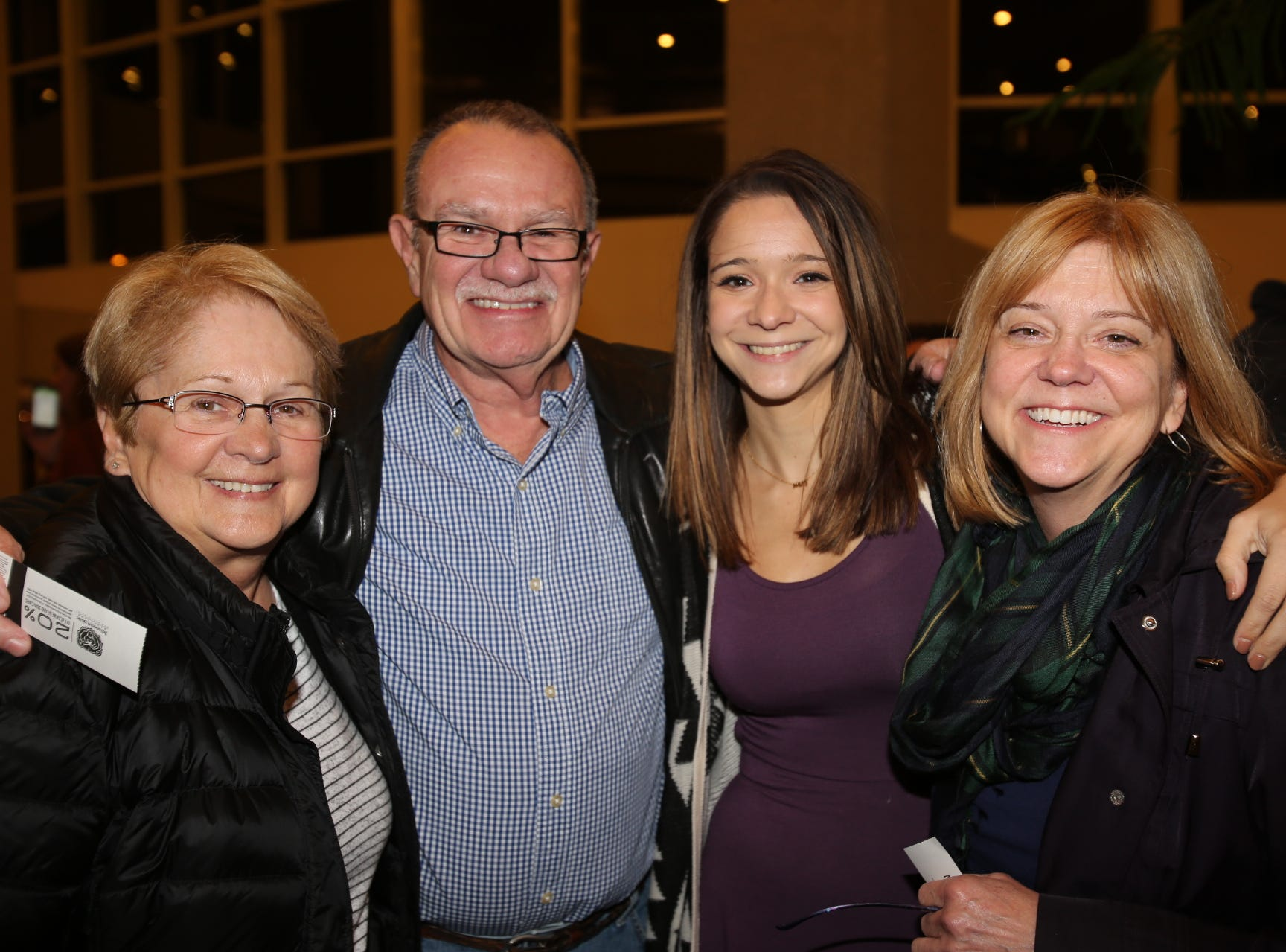 Debbie and Mike Greene, Liz Ruggeri, and Stephanie Spradling