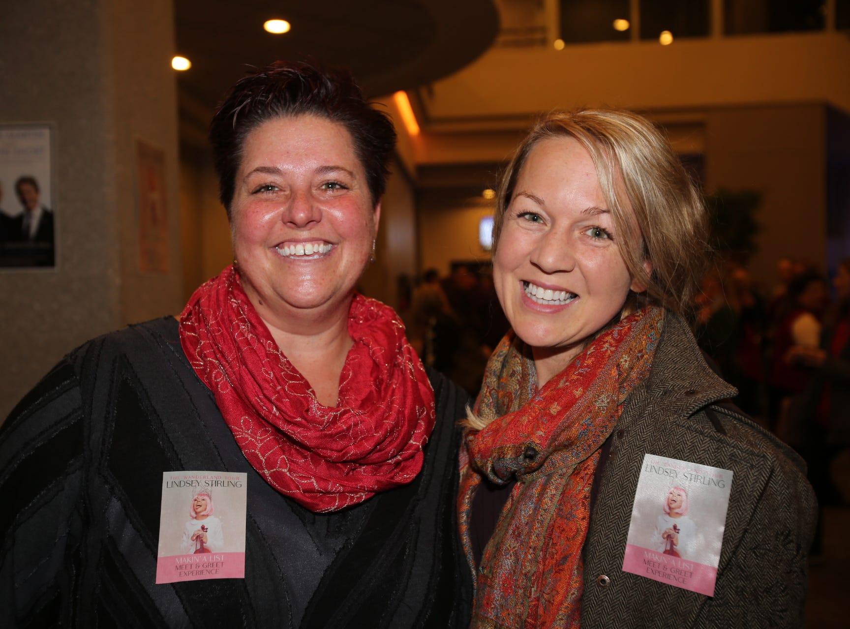 Susie Berry and Nicole Dudas
