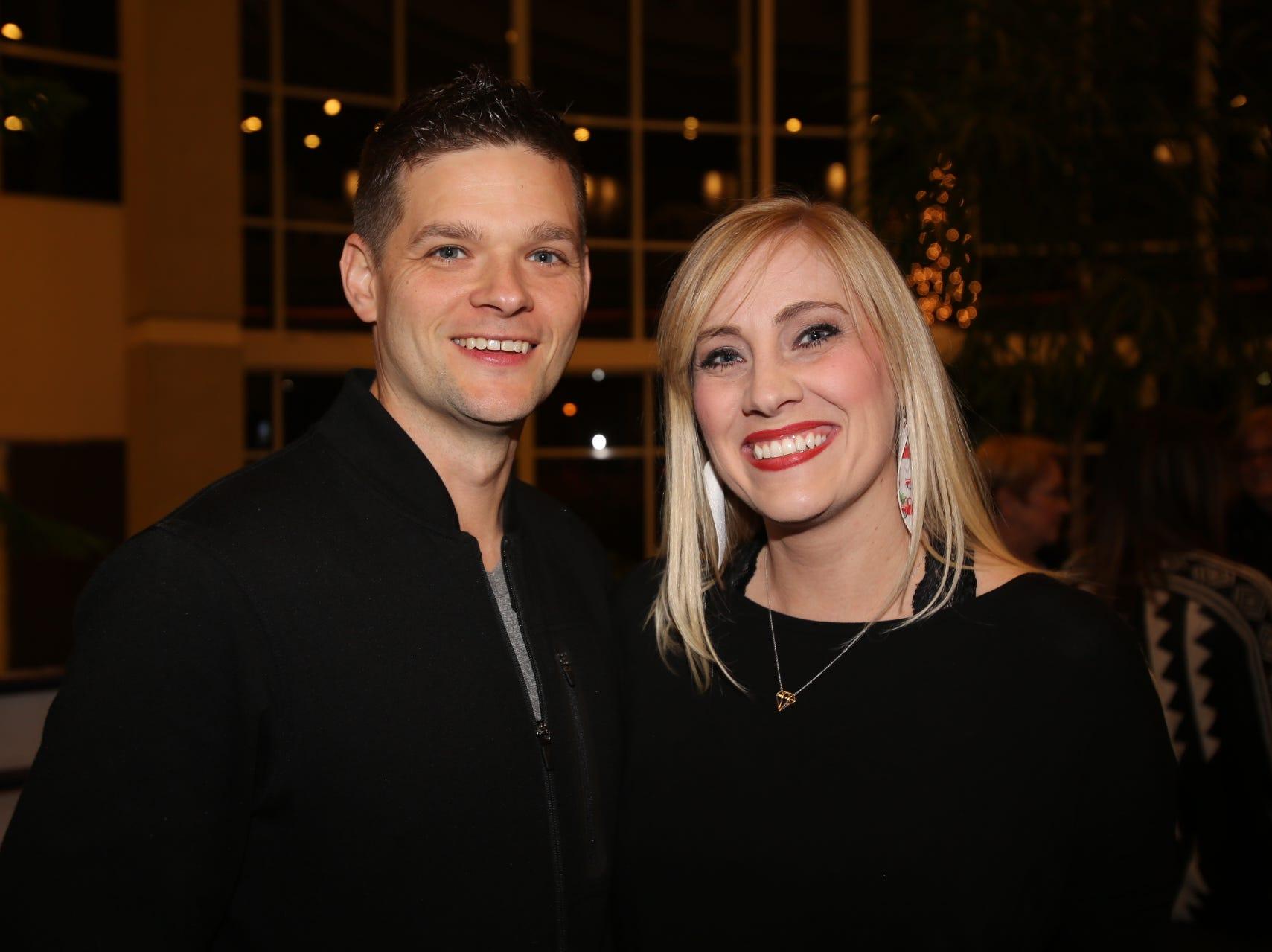 Mikel and Lisa Robertson