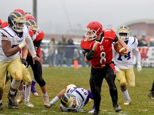 Sophomore Zac Smiley leads Riverheads in rushing with 1,575 yards and 30 total TDs.