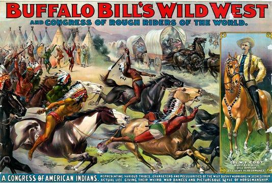 Buffalo Bill Show Poster