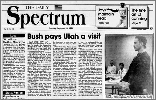 Bush Spectrum