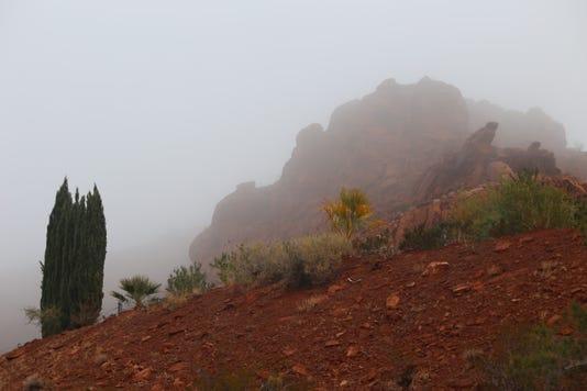 St. George fog