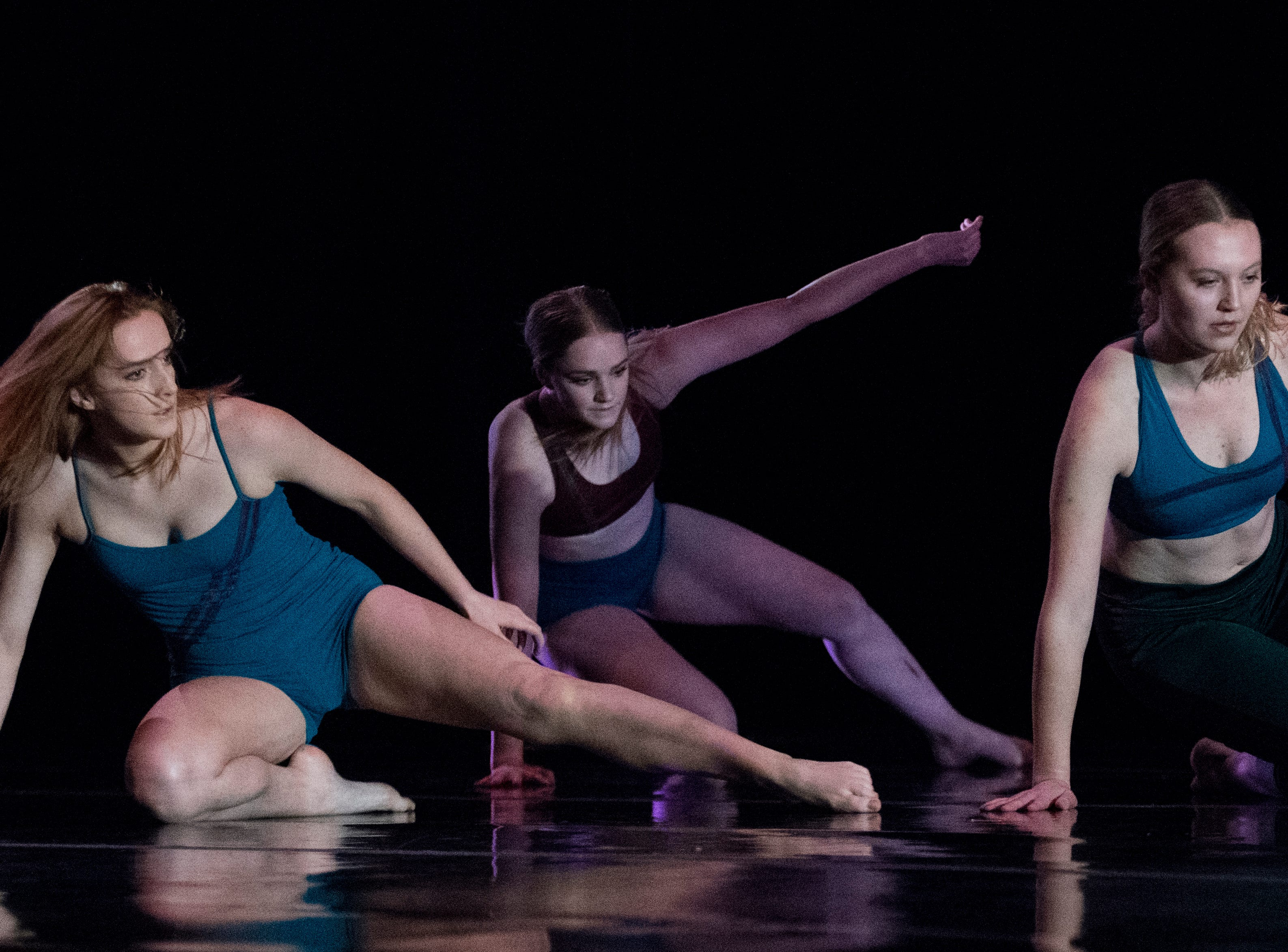 "Southern Utah University dance students perform ""Fresh!"" in the Randall L. Jones Theatre Friday, November 30, 2018. The show is a series of original choreographic works about ""making meaning out of seemingly disparate points of view"". The show has several performances from December 1-8."
