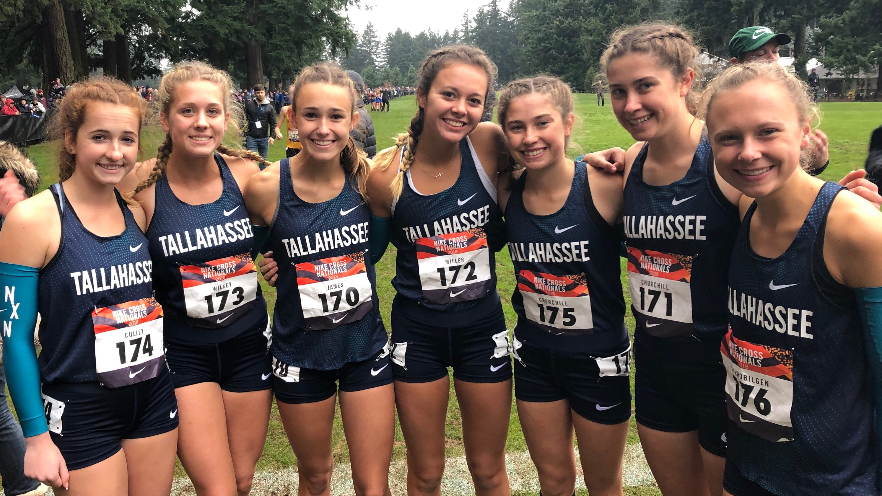 buy popular 491d3 92ee9 Chiles' girls cross country team finishes 22nd at Nike Cross ...
