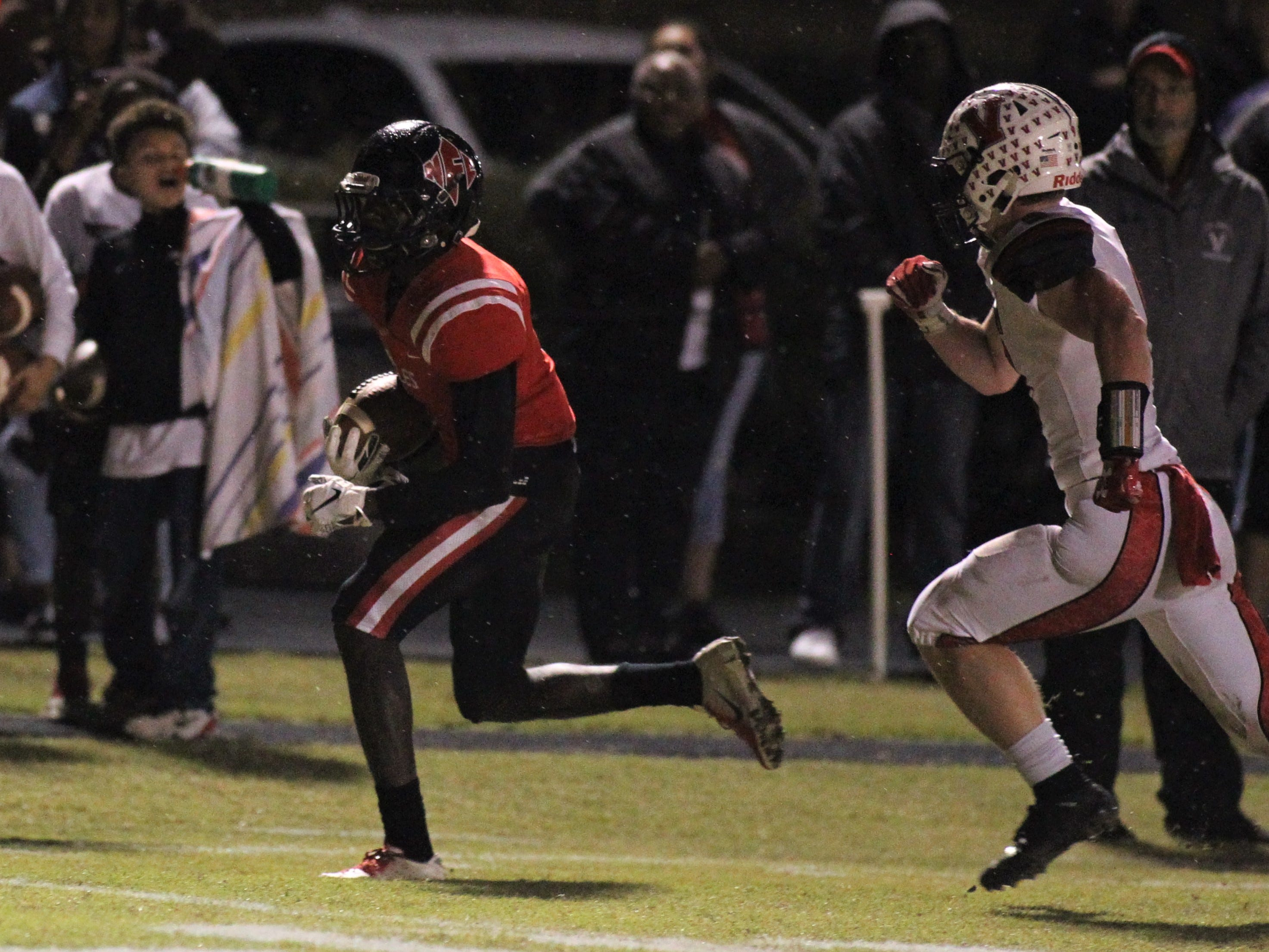 NFC beat Victory Christian 23-20 on Friday night in a Class 2A state semifinal.