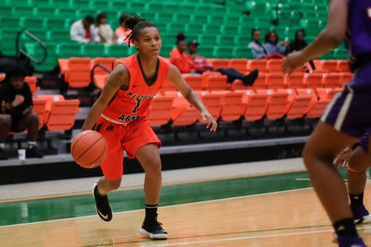 Florida A&M freshman guard Mya Moye leads the team in scoring with 11.2 points per game.