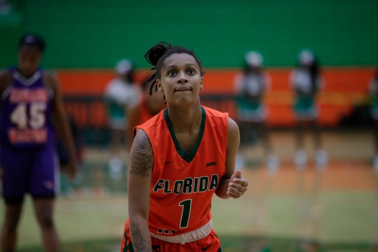 FAMU guard Mya Moye was named MEAC Rookie of the Week to open the league schedule for the 2018-19 season.