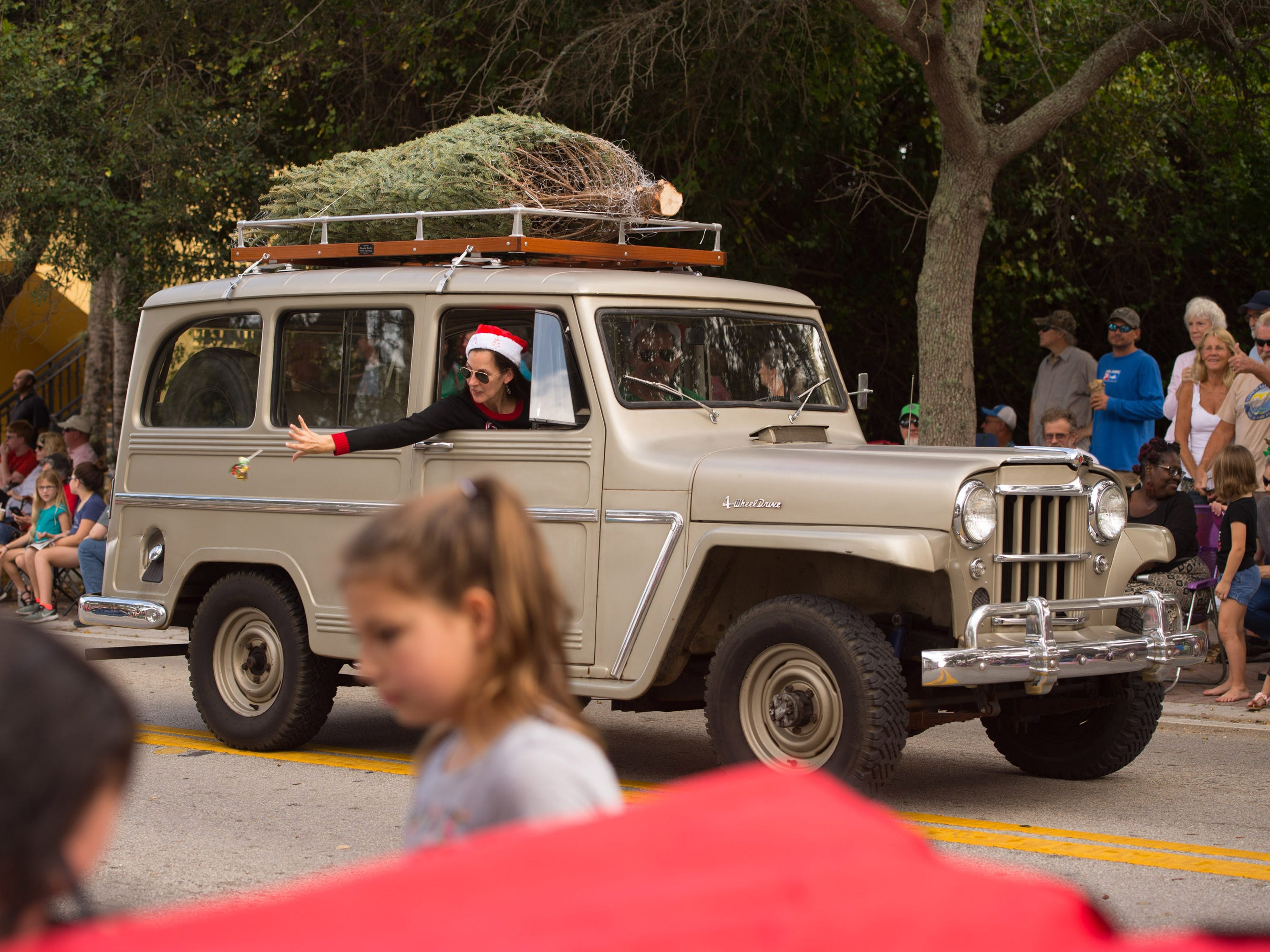 The 33rd annual Hobe Sound Christmas Parade was held Saturday, Dec. 1, 2018 in Hobe Sound.