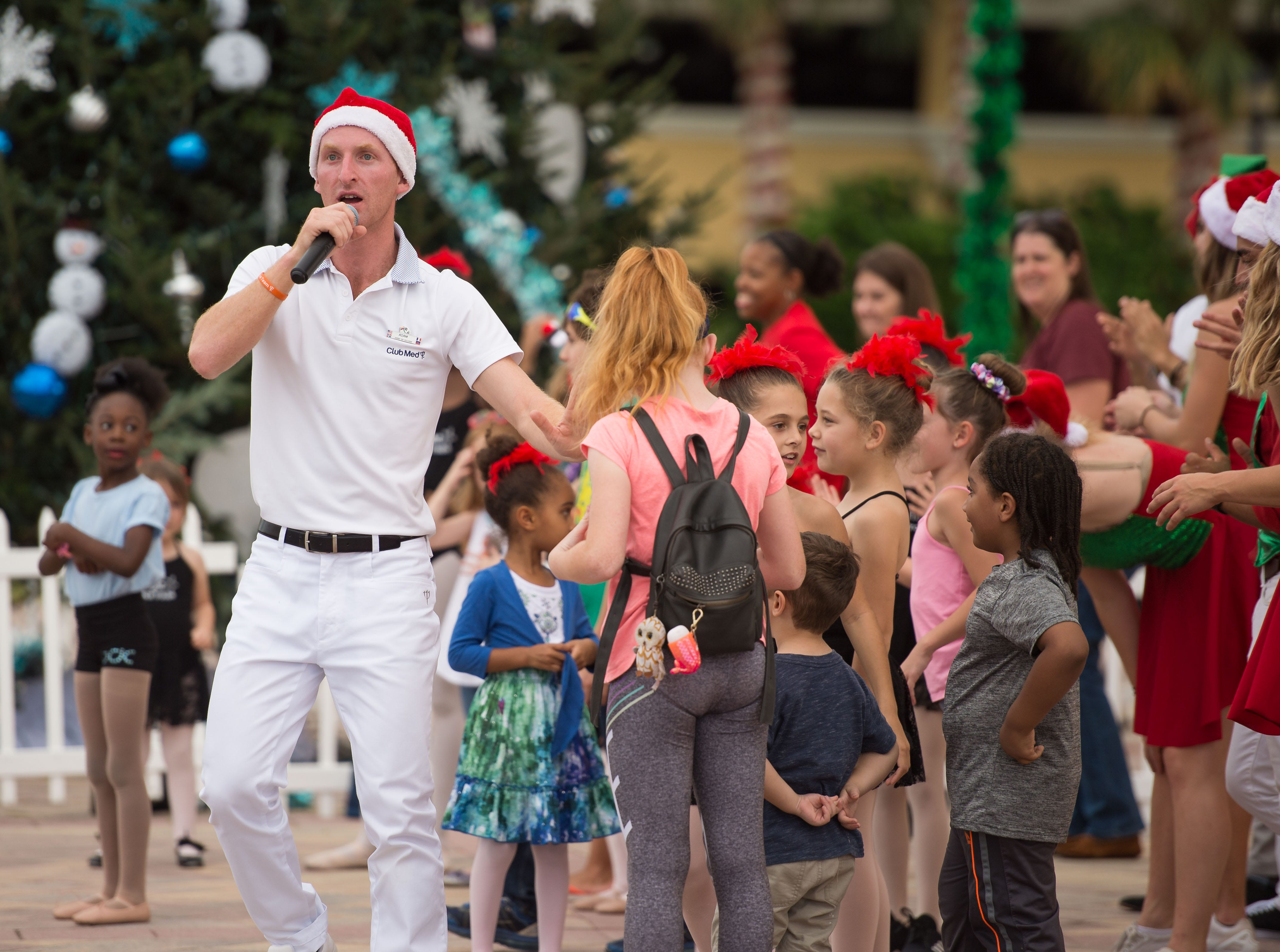 The Port St. Lucie Festival of Lights is held at the Port St. Lucie Civic Center on Saturday, Dec. 1, 2018, in Port St. Lucie. In addition to food, holiday shopping and live music, the event featured the Snowflakes & Snowmen parade and tree lighting.