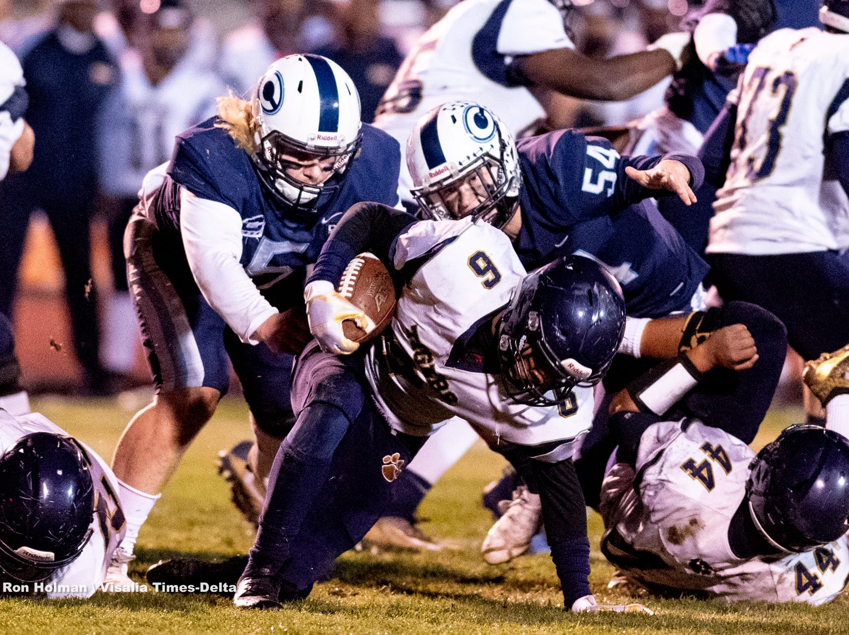 Central Valley Christian hosts Morse in a CIF SoCal Regional Championship Bowl Game on Friday, November 30, 2018.