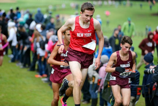 Nanuet's Ryan Guerci in action during the Nike Cross Nationals in Portland, Oregon.