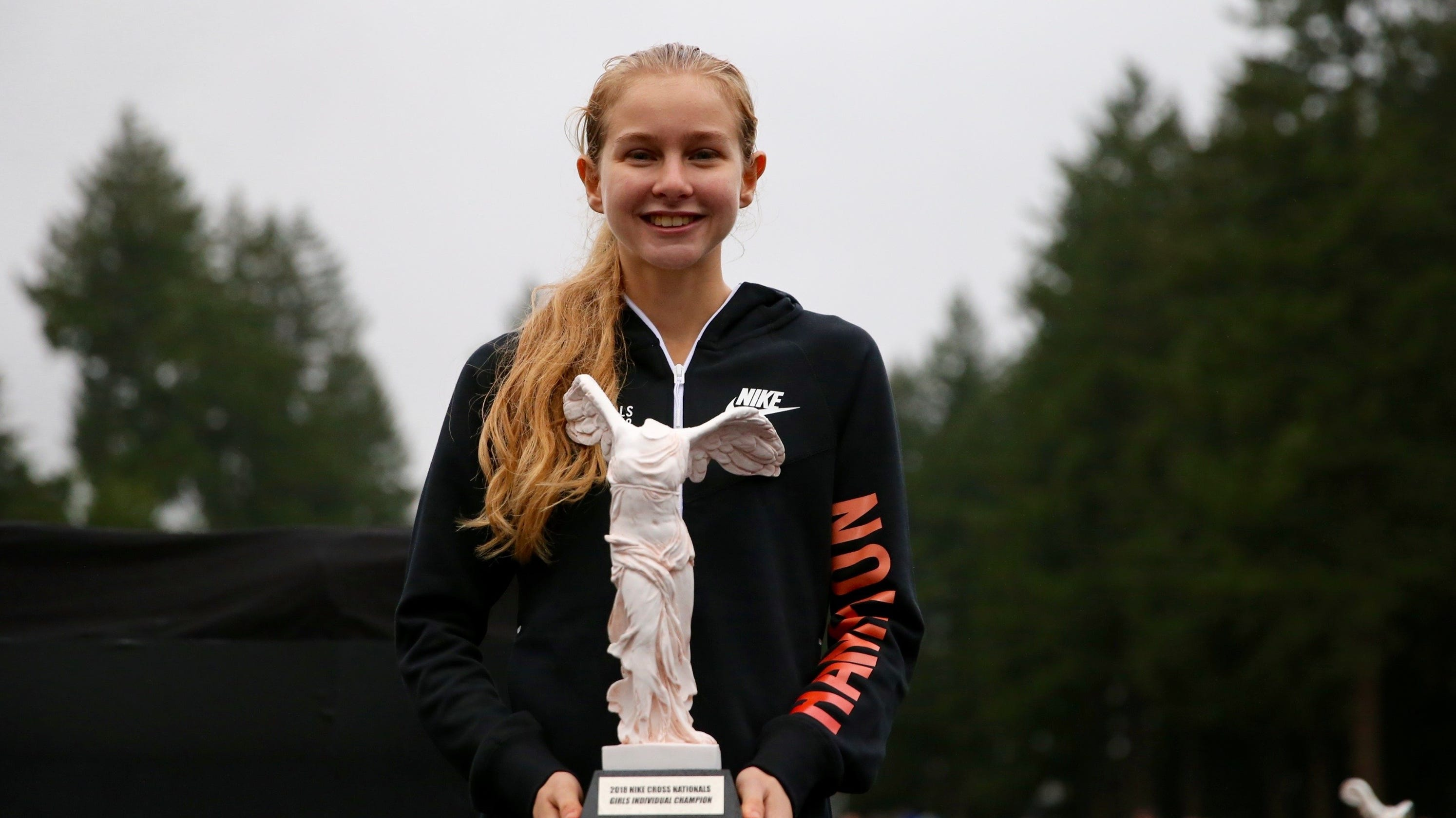 best loved 3c5fa e5b90 Cross-country: Tuohy breaks own record, repeats as Nike ...