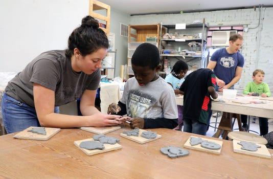 Clay Art Center Ornament Class