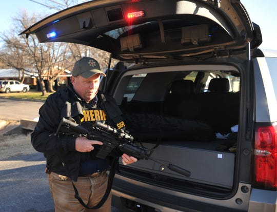 Wichita County Sheriff David Duke called the situation serious, Saturday morning as deputies prepared for the worse while dealing with an armed and barricaded suspect in Iowa Park.