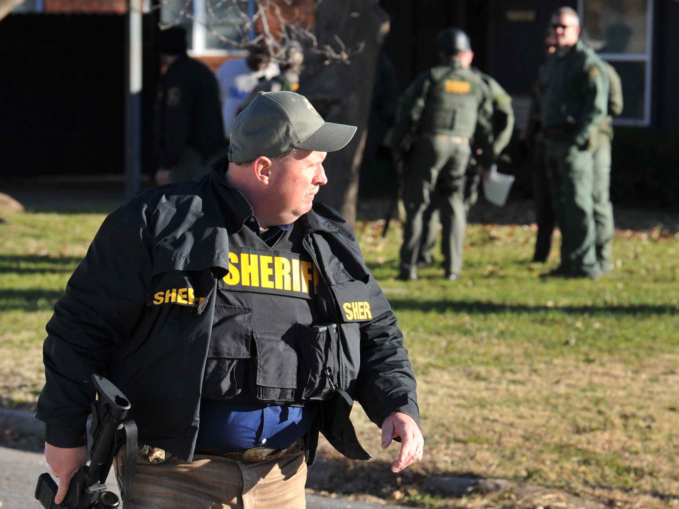 Wichita County Sheriff David Duke called the situation serious, Saturday after deputies placed into custody after a morning long standoff with an armed and barricaded suspect.