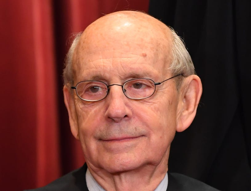 Associate justice Stephen Breyer
