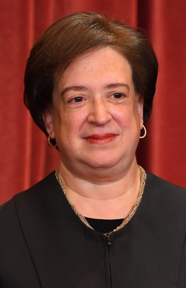 Associate justice Elena Kagan