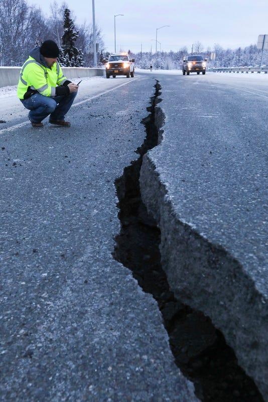 Ap Earthquake Alaska A Wea Usa Ak