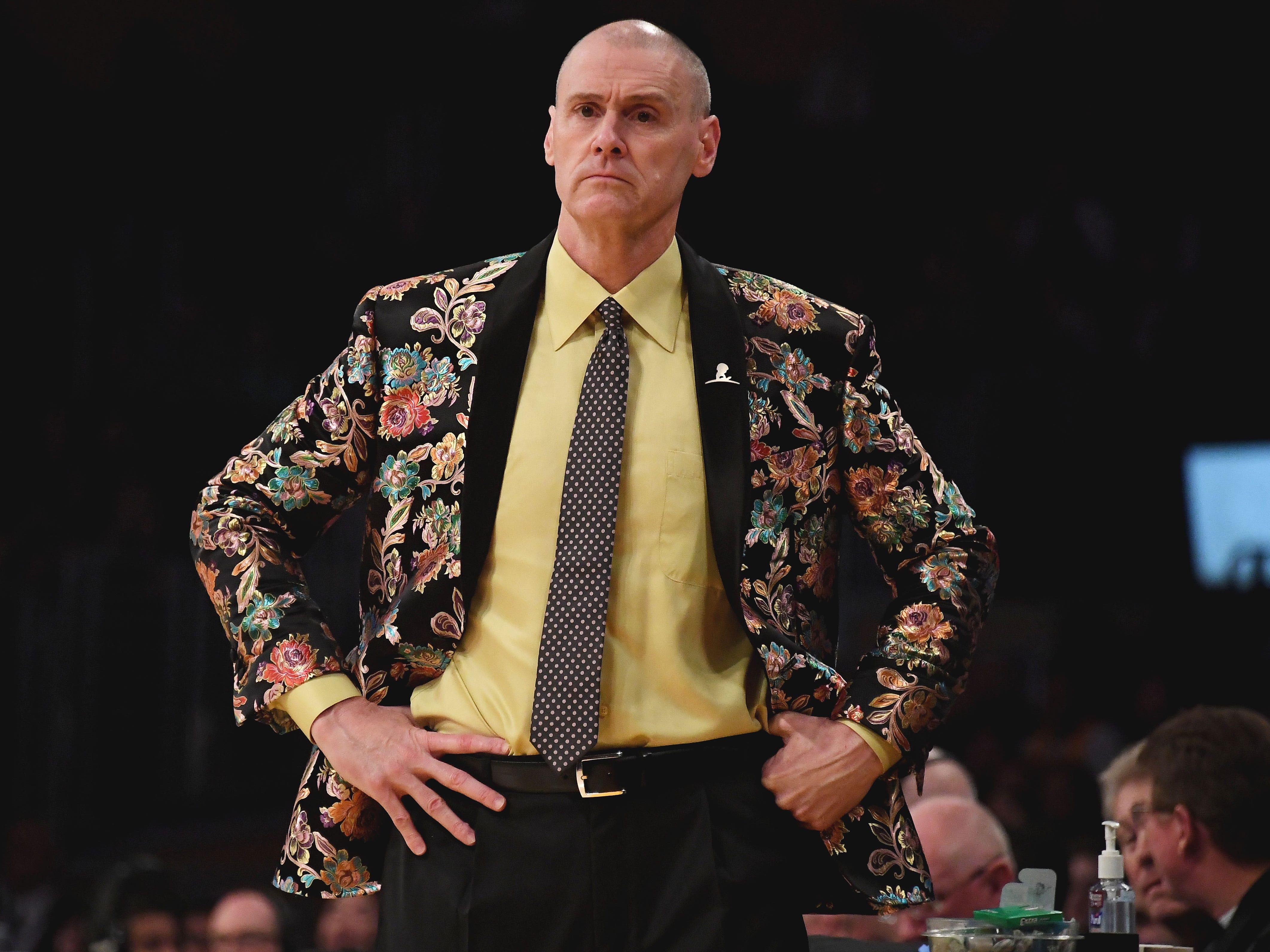 Nov. 30: Dallas Mavericks coach Rick Carlisle
