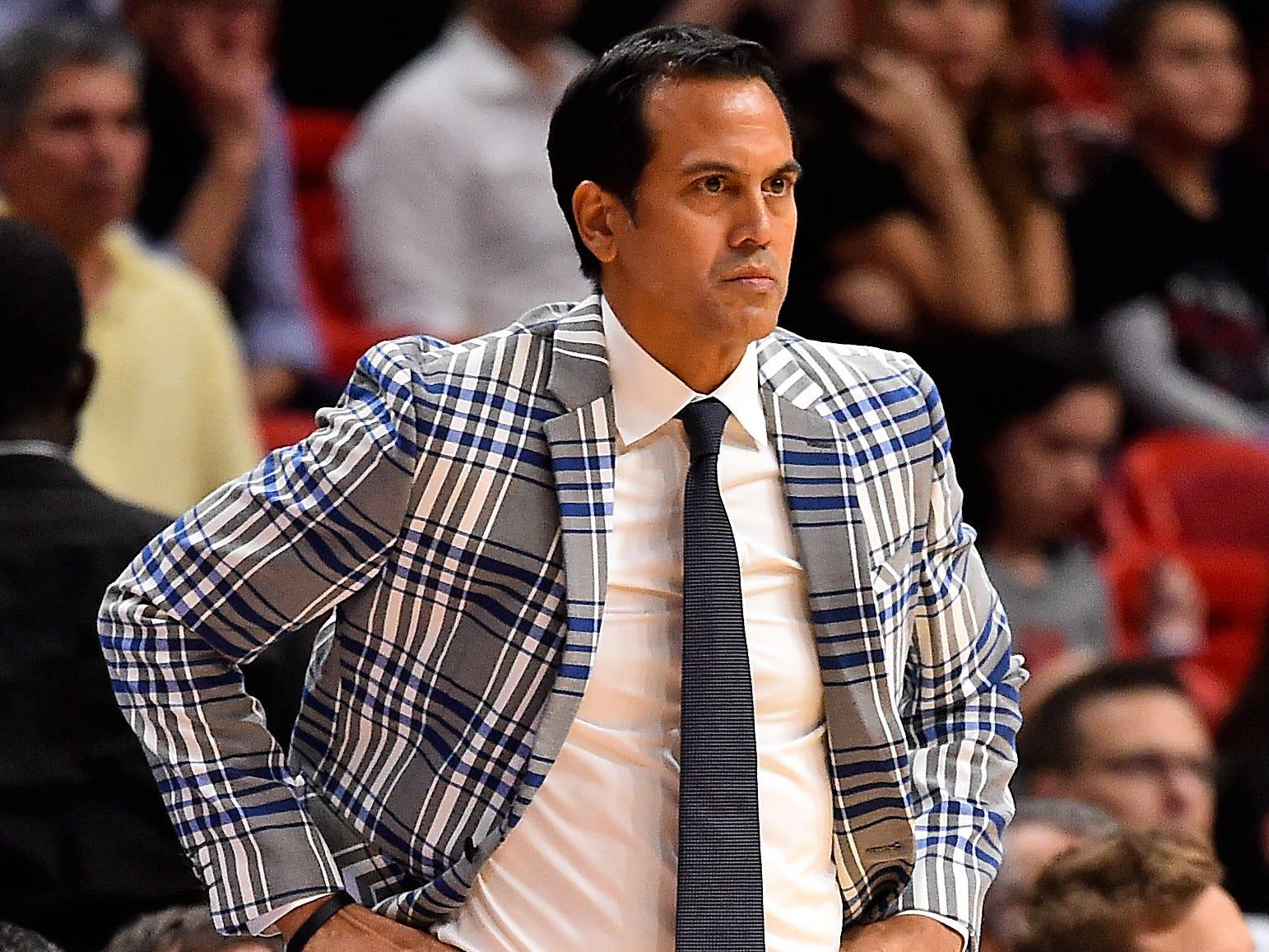 Nov. 30: Miami Heat coach Erik Spoelstra