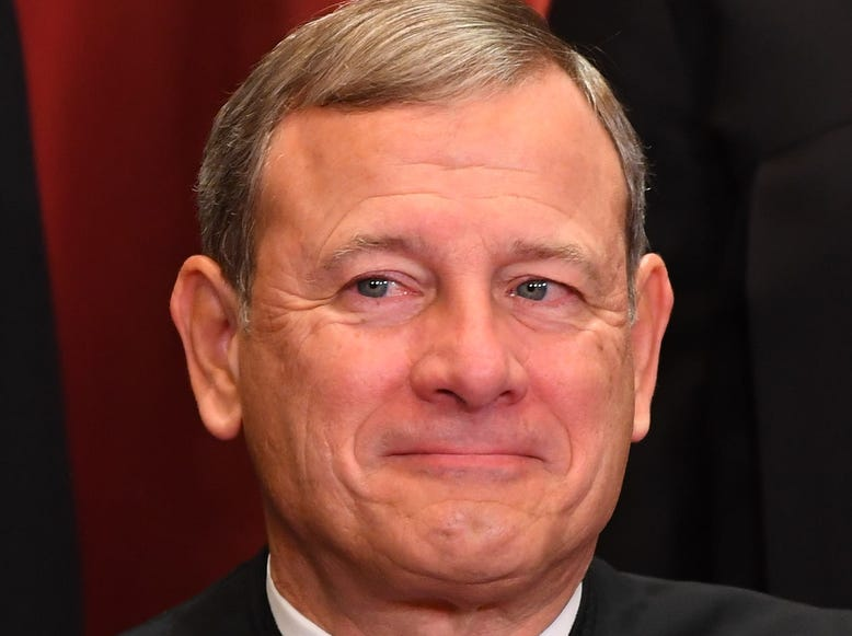 Chief Justice of the United States John G. Roberts.