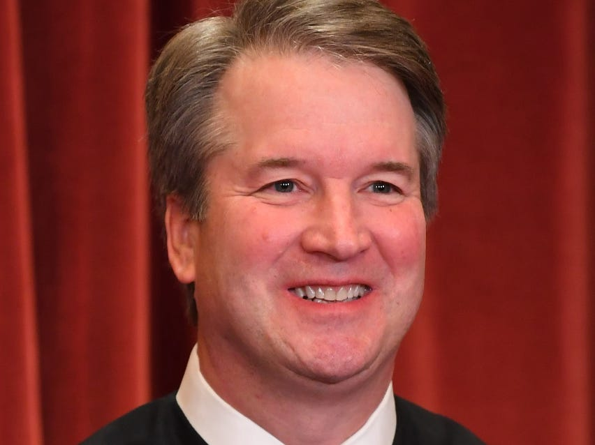 Associate justice Brett M. Kavanaugh