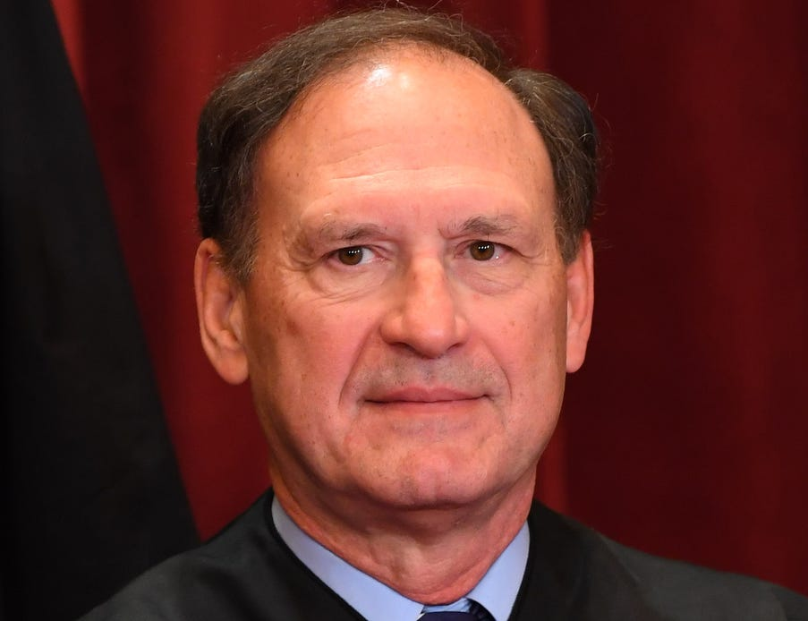 Associate justice Samuel Alito, Jr.