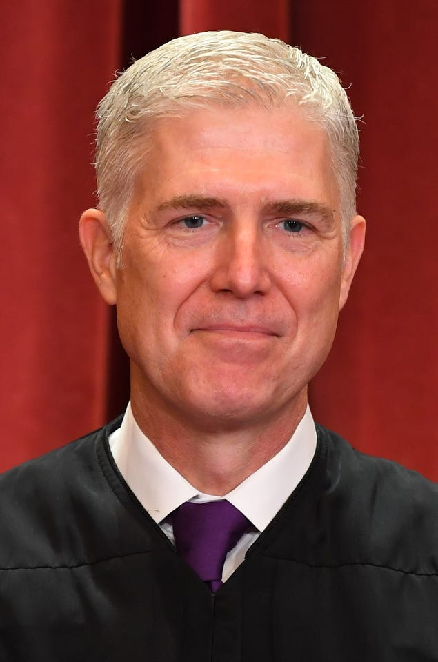 "Associate justice Neil Gorsuch ""sided with the Court's liberals because he thinks the federal government has too much power,"" wrote Vox in 2018 about the civil forfeiture legal discussion."