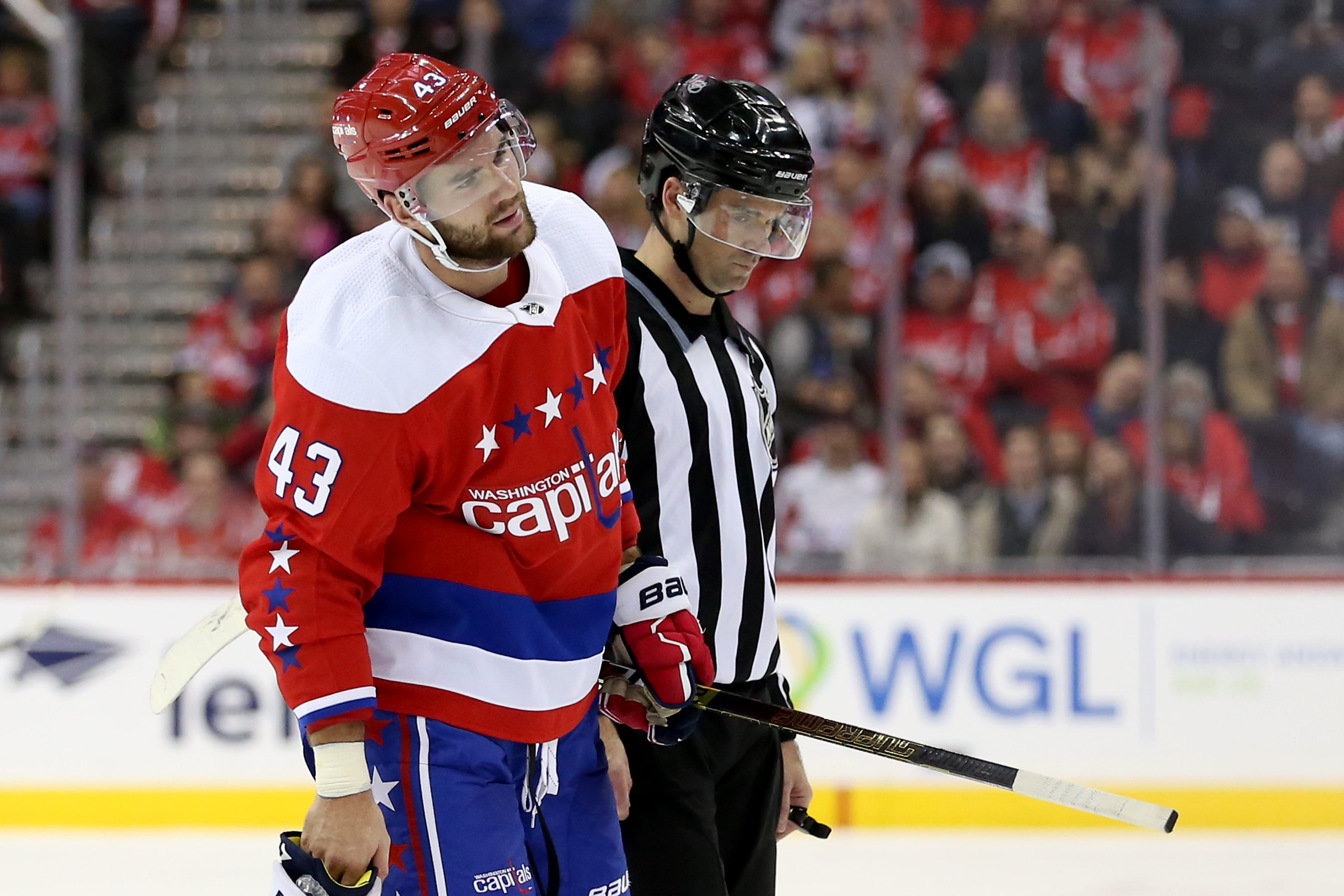 Capitals' Tom Wilson Ejected For Yet Another Questionable Hit In Ninth Game Back From Suspension