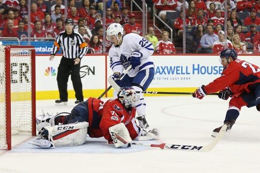 58fa89a61 Usp Nhl Stanley Cup Playoffs Toronto Maple Leafs S Hkn Wsh Tor Usa Dc